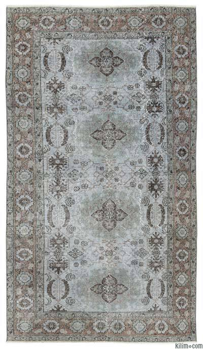 """Turkish Vintage Area Rug - 4'10"""" x 8'4"""" (58 in. x 100 in.)"""