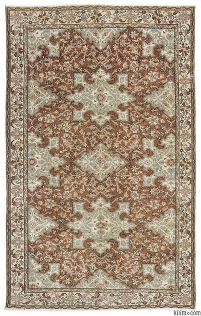 """Turkish Vintage Area Rug - 6'5"""" x 10'4"""" (77 in. x 124 in.)"""