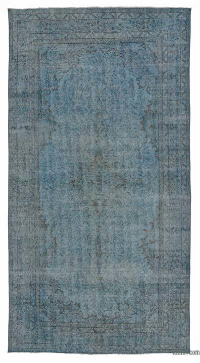 "Over-dyed Turkish Vintage Rug - 5' 5"" x 10' 1"" (65 in. x 121 in.)"