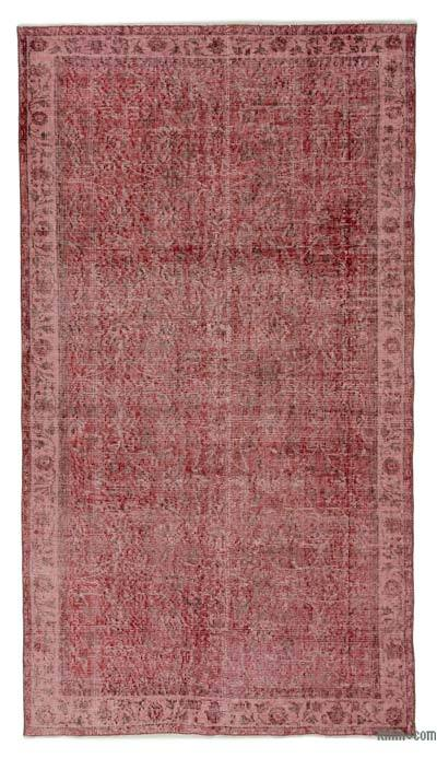 "Over-dyed Turkish Vintage Rug - 3'11"" x 7'2"" (47 in. x 86 in.)"