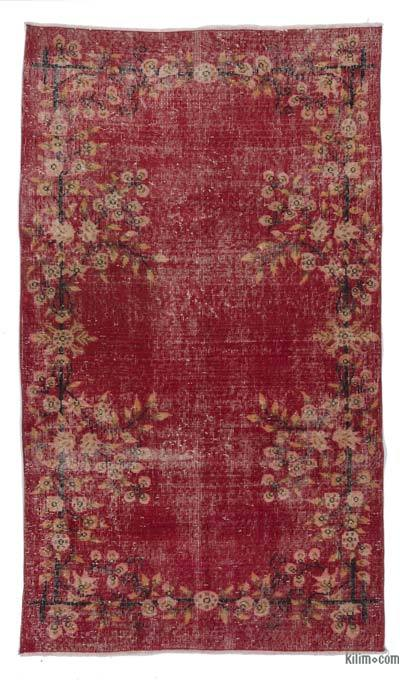 "Turkish Vintage Area Rug - 3'10"" x 6'8"" (46 in. x 80 in.)"