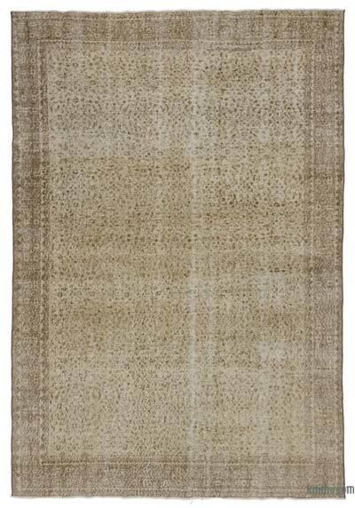 "Turkish Vintage Area Rug - 6' 7"" x 9' 10"" (79 in. x 118 in.)"