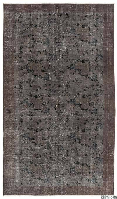 "Over-dyed Turkish Vintage Rug - 4'9"" x 8'3"" (57 in. x 99 in.)"