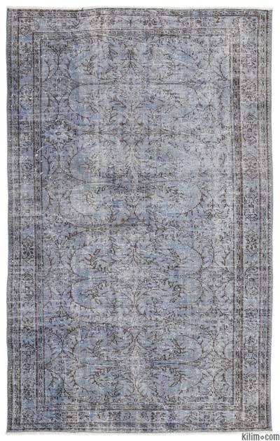 Alfombra Turca Vintage Sobre-teñida - 176 cm x 284 cm