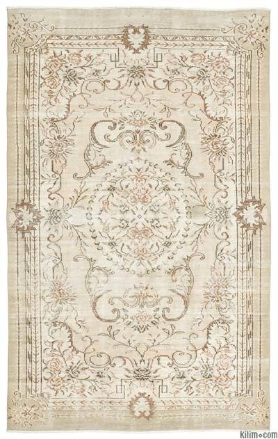 """Turkish Vintage Area Rug - 6'5"""" x 10'2"""" (77 in. x 122 in.)"""