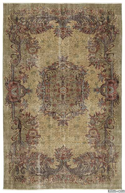 "Turkish Vintage Area Rug - 5'3"" x 8'3"" (63 in. x 99 in.)"