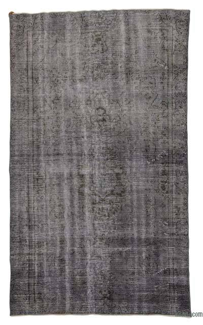 "Over-dyed Turkish Vintage Rug - 5'9"" x 9'8"" (69 in. x 116 in.)"