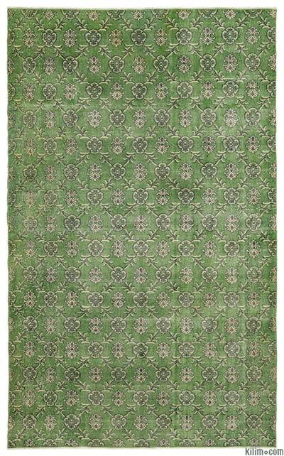 """Turkish Vintage Area Rug - 6'1"""" x 10' (73 in. x 120 in.)"""