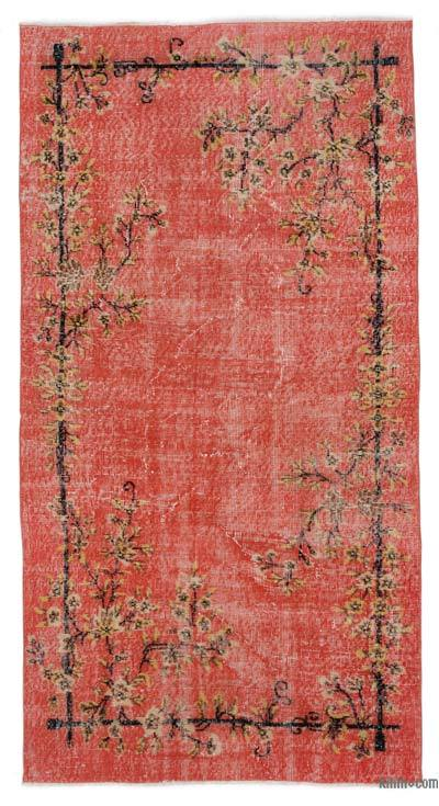 "Turkish Vintage Area Rug - 3' 8"" x 7' 2"" (44 in. x 86 in.)"