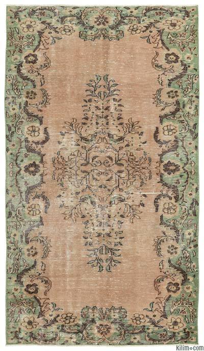 """Turkish Vintage Area Rug - 5' x 8'7"""" (60 in. x 103 in.)"""
