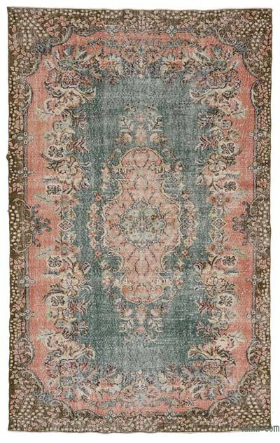 "Turkish Vintage Area Rug - 5' 11"" x 9' 7"" (71 in. x 115 in.)"