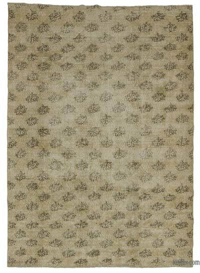 "Turkish Vintage Area Rug - 6'4"" x 9' (76 in. x 108 in.)"