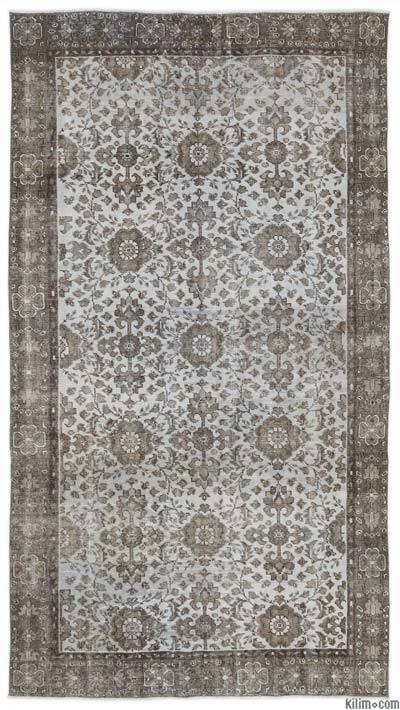 "Turkish Vintage Area Rug - 5'2"" x 9'4"" (62 in. x 112 in.)"