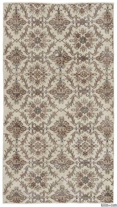 """Turkish Vintage Area Rug - 3'8"""" x 6'10"""" (44 in. x 82 in.)"""
