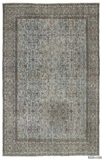 """Turkish Vintage Area Rug - 6'1"""" x 9'9"""" (73 in. x 117 in.)"""
