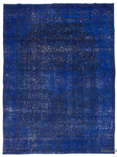 """Over-dyed Vintage Hand-knotted Oriental Rug - 9' 10"""" x 12' 11"""" (118 in. x 155 in.)"""