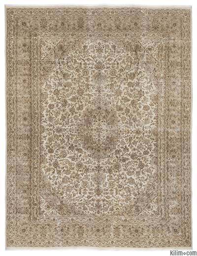 """Vintage Hand-knotted Oriental Rug - 9'6"""" x 12'8"""" (114 in. x 152 in.)"""