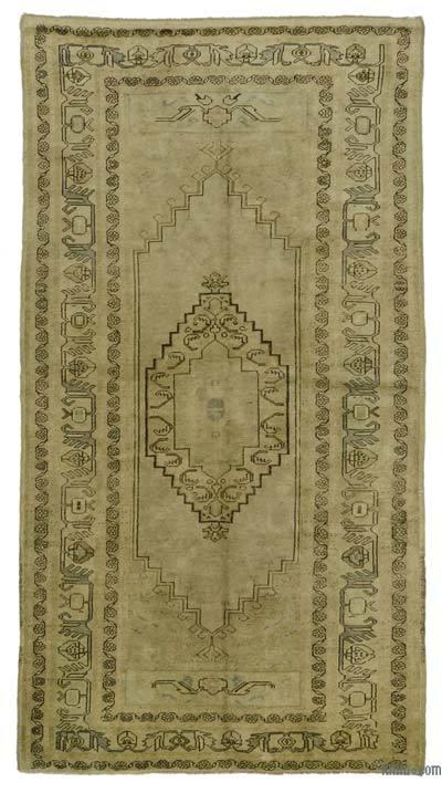 "Vintage Turkish Rug - Heritage - 4' 6"" x 8' 8"" (54 in. x 104 in.)"