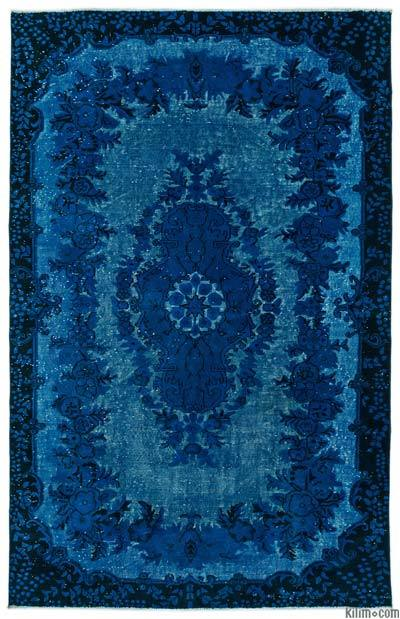 """Hand Carved Over-Dyed Rug - 6'  x 9' 5"""" (72 in. x 113 in.)"""