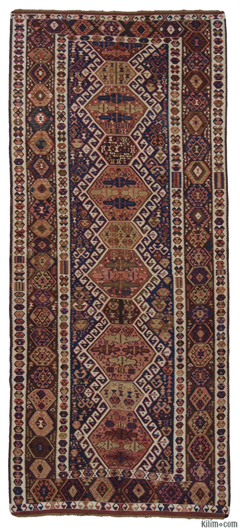 Antika Kağızman Kilimi - 170 cm x 393 cm - K0015966