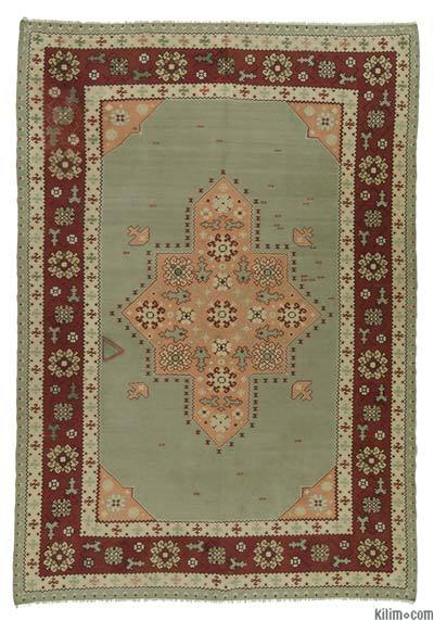 Alfombra Vintage Manastir Kilim - 205 cm x 290 cm