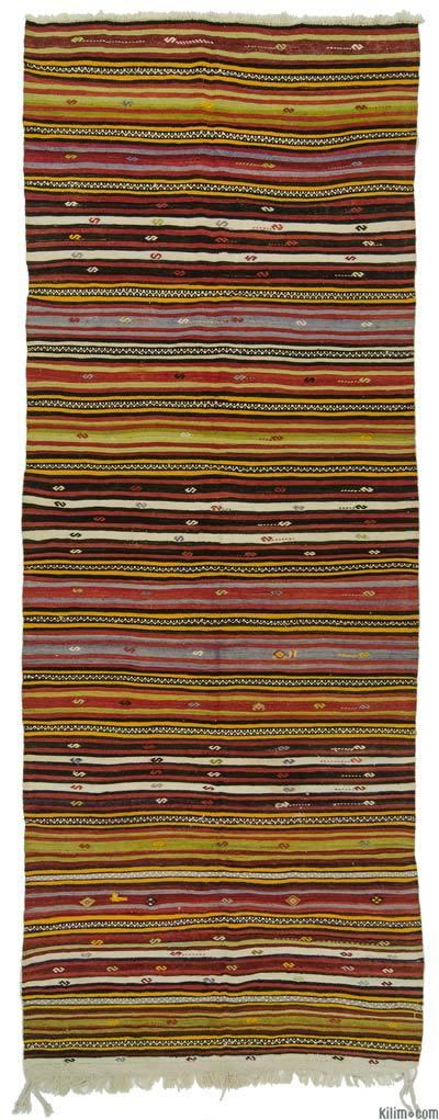 Kilim Vintage Turco De Pasillo - 150 cm x 400 cm