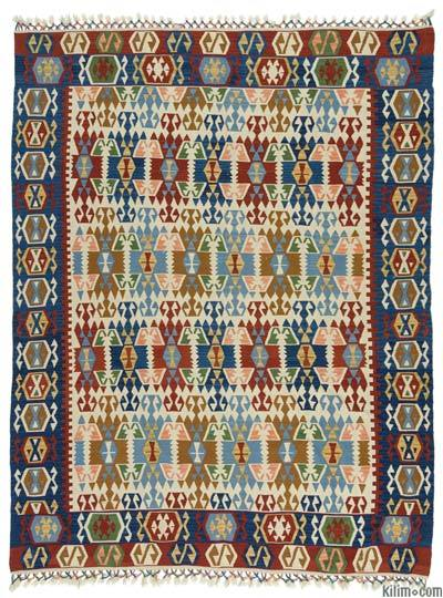 "New Kayseri Kilim Rug - 6' 4"" x 8' 2"" (76 in. x 98 in.)"