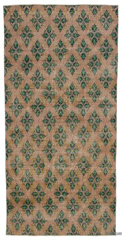 """Turkish Vintage Area Rug - 4'7"""" x 9'7"""" (55 in. x 115 in.)"""