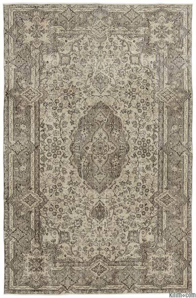 "Turkish Vintage Area Rug - 5'3"" x 8'2"" (63 in. x 98 in.)"