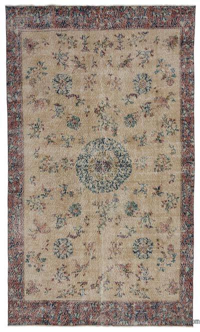 "Turkish Vintage Area Rug - 5' 11"" x 10' 1"" (71 in. x 121 in.)"