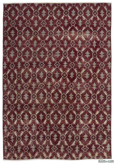 """Turkish Vintage Area Rug - 4'9"""" x 6'11"""" (57 in. x 83 in.)"""