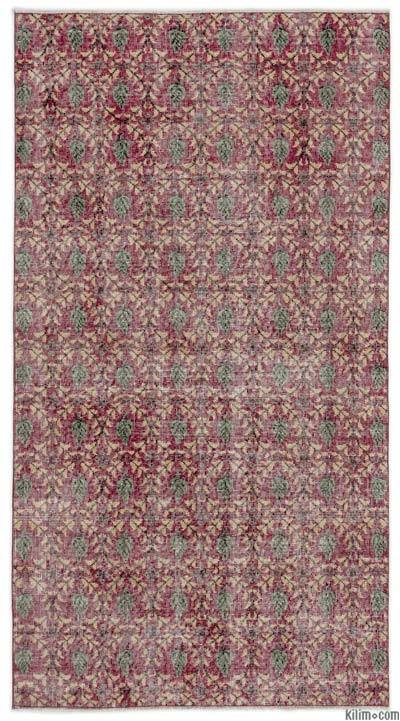 "Turkish Vintage Area Rug - 3'8"" x 6'11"" (44 in. x 83 in.)"