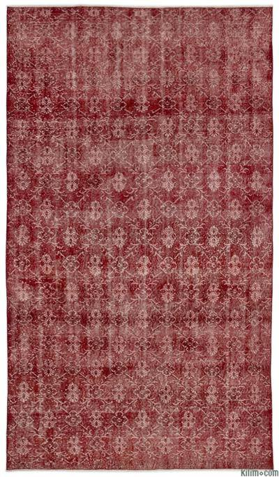 "Turkish Vintage Area Rug - 6'1"" x 10'7"" (73 in. x 127 in.)"