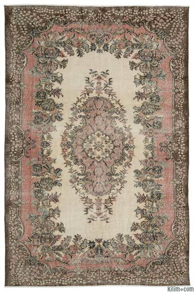 "Turkish Vintage Area Rug - 6' 8"" x 10' 1"" (80 in. x 121 in.)"