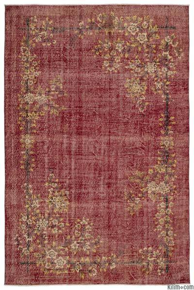 """Turkish Vintage Area Rug - 6'10"""" x 10'4"""" (82 in. x 124 in.)"""