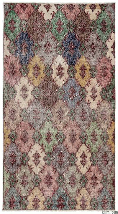 """Turkish Vintage Area Rug - 3'5"""" x 6'4"""" (41 in. x 76 in.)"""