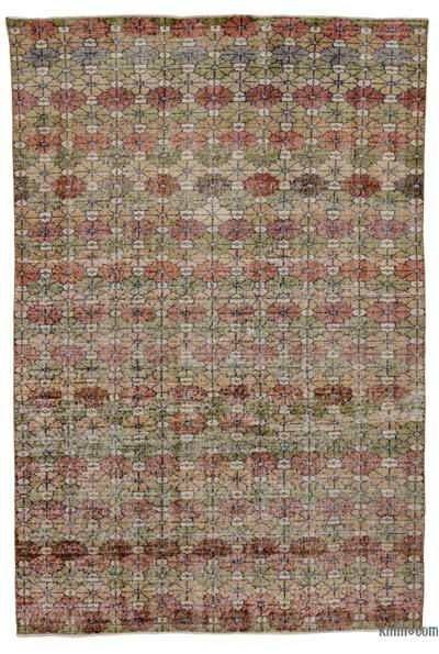 """Turkish Vintage Area Rug - 5'9"""" x 8'8"""" (69 in. x 104 in.)"""