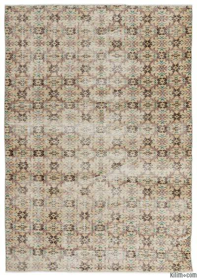 """Turkish Vintage Area Rug - 6' x 8'5"""" (72 in. x 101 in.)"""