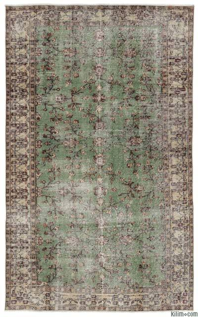 "Turkish Vintage Area Rug - 4' 10"" x 7' 11"" (58 in. x 95 in.)"