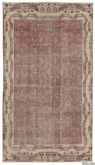 "Turkish Vintage Area Rug - 4'10"" x 8'5"" (58 in. x 101 in.)"