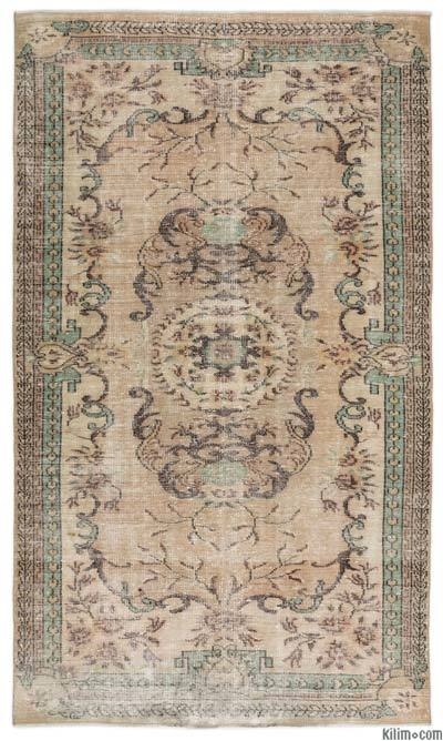 """Turkish Vintage Area Rug - 6'2"""" x 10'7"""" (74 in. x 127 in.)"""