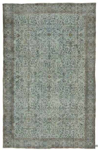 "Turkish Vintage Area Rug - 6' 3"" x 9' 10"" (75 in. x 118 in.)"