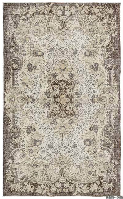 "Turkish Vintage Area Rug - 5'4"" x 8'6"" (64 in. x 102 in.)"