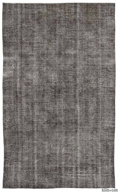 """Over-dyed Turkish Vintage Rug - 6' 6"""" x 10' 8"""" (78 in. x 128 in.)"""