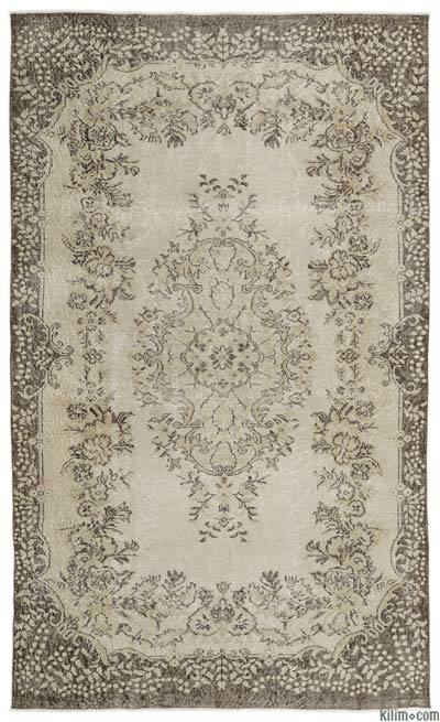 "Turkish Vintage Area Rug - 5'8"" x 9'5"" (68 in. x 113 in.)"