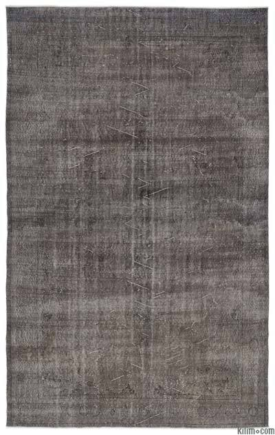 """Over-dyed Turkish Vintage Rug - 6'5"""" x 10'5"""" (77 in. x 125 in.)"""