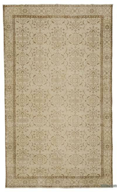 "Over-dyed Turkish Vintage Rug - 6' 2"" x 10' 1"" (74 in. x 121 in.)"