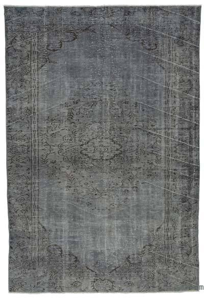 """Over-dyed Turkish Vintage Rug - 5' 4"""" x 9' 5"""" (64 in. x 113 in.)"""