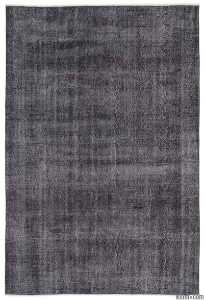 "Over-dyed Turkish Vintage Rug - 6'11"" x 10'5"" (83 in. x 125 in.)"