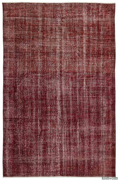 "Over-dyed Turkish Vintage Rug - 6' 10"" x 10' 4"" (82 in. x 124 in.)"